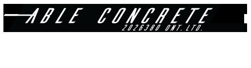 Able Concrete